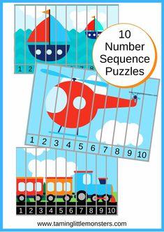 Free Transportation Printables for Kids