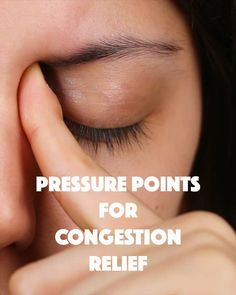 8 Pressure Points Will Help You Relieve Congestion Stuffy nose? Maybe even a headache? Try these eight pressure points to help relieve your congestion! Maybe even a headache? Try these eight pressure points to help relieve your congestion! Remedios Congestion Nasal, Sinus Congestion Relief, Sinus Headache Relief, Chest Congestion Remedies, Sinus Remedies, Congested Nose Remedies, Natural Remedies, Remedy For Stuffy Nose, Massage Therapy