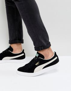 first rate 6bb48 48ba8 Puma Suede Classic sneakers in black 35263403. Puma Negro, Zapatos Nike ...