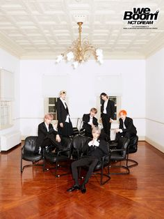 "Teenage boy band NCT DREAM from SM Entertainment is returning with its third mini-album, ""We Boom,"" 10 months after the second, ""We Go Up. Jisung Nct, Nct 127, Winwin, Taeyong, Jaehyun, Album Nct, Nct Dream, K Pop, Zen"