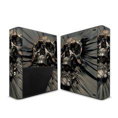 Microsoft Xbox 360 E Skin - Skull Wrap by David Penfound   DecalGirl Xbox 360, Microsoft, Console, Skull, David, Mood, Roman Consul, Consoles, Skulls