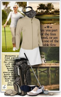 Happy Golfing ladies! An inspiration for your golf outfits every game at #lorisgolfshoppe