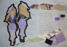 MK Young Fashion Designer of the Year 2012 - Final Design Board