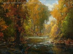 Autumn - Oil by Kathryn Stats