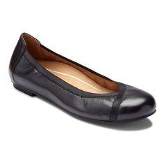 dfbcab6fc14c Vionic Spark Caroll - Women s Ballet Flat Black - 5 Medium