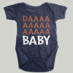 DAAAA Baby Chicago Bears Baby Onesie