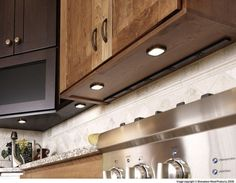 Hide plug outlets under the cabinets -- also love the clean ...