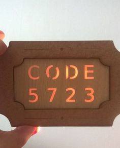 analog code riddle for escape room