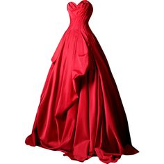 Rami Kadi - edited by mlleemilee ❤ liked on Polyvore featuring dresses, gowns, long dresses, vestidos, red ball gown, red dress, red gown, red evening gowns and red evening dresses