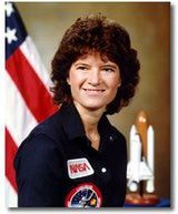 Sally Ride became the first American woman in space when she launched from the Kennedy Space Center in Florida on June 18, 1983 on board space shuttle Challenger . Valentina Tereshkova, Famous Girls, Famous Women, Famous People, Iconic Women, Sally Ride Biography, La Jolla, First Female Astronaut, Gay Pride