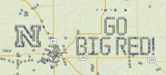 Welcome to Nebraska. Go Huskers, the Big Red - GC3VDR3