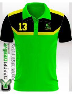 Polo Shirt Customade, Design & Material ikut selera anda dengan sulaman Logo, Nama Individu dan Special Number