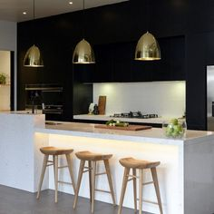 What is Actually Going on with Simple Ways to Understanding Kitchen Trends For 2019 A kitchen remodel should reflect the property's style. Then, you might hire an expert to do only the pieces of the kitchen remodel which you don't… Continue Reading → Kitchen Style, White Modern Kitchen, Rustic Kitchen, White Kitchen Decor, Kitchen Trends, Contemporary Kitchen, Kitchen Remodel, Home Kitchens, Kitchen Design