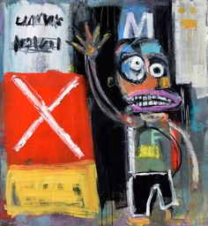 """""""You go on without me, I'll Be Fine """"  oil on canvas  48 x 44"""" #colorfulcharacters#contemporarayart#modernpainters#modernart#allenwittert#bigpaintings#"""