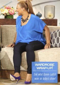 Queen Latifah's Wardrobe Wrap-up 11.04.13