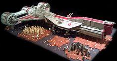 Republic Frigate /by yoshix #flickr #LEGO #StarWars