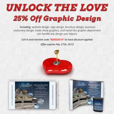 Unlock the love for Valentine's Day!