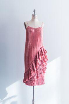 NEW LISTING 1980s Rose Mary McFadden Pleated Dress by ShopGossamer, $485.00