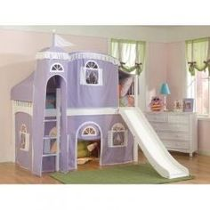 Cute Castle Beds for Girls. By Cozy contributor StephanieManning. http://www.squidoo.com/cute-castle-beds-for-girls