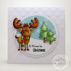 Using SugarPea Designs Merry Christmoose stamp set by Mary J