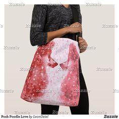 Shop Posh Poodle Love Crossbody Bag created by LeonOziel. Dog Jewelry, Edge Design, Pet Accessories, Poodle, Cute Art, Shop Now, Crossbody Bag, Stylish, Cotton