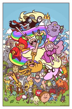 Les illustrations cartoons de Captainosaka
