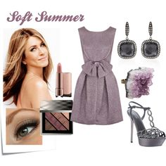 """Soft Summer Coctail Dress"" by lapetiteamelie on Polyvore"