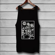 Frankenweenie Characters Custom Tank Top T-Shirt Men and Woman