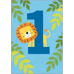 Our New Tiger Tail Juvenile Age Card Collection Includes 1 To 8 Year Old Designs For Boy And Girl Cardmix Greeting Cards
