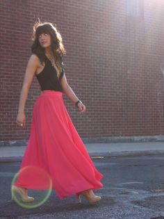 not sure if this a dress, or shirt/skirt combo, either way; it's maxi so I love it.
