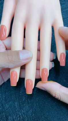 Classy Nails, Stylish Nails, Simple Nails, Trendy Nails, Nail Art Designs Videos, Cute Nail Art Designs, Acrylic Nail Designs, Nail Art Videos, Simple Nail Designs
