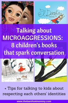 Microaggressions are the everyday slights and insults people with a marginalized identity have do endure. Kids experience them (and commit them) all the time. But if we teach kids what they are, they can help interrupt these hurtful moments! Click through for 6 strategies for helping kids understand microaggressions, including a list of children's books that will spark conversation on the topic. #racism #weneeddiversebooks
