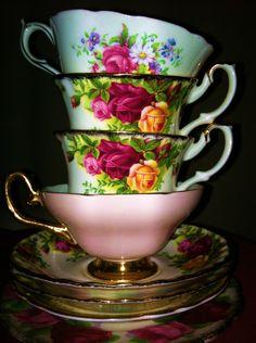China Tea Cups and Saucer