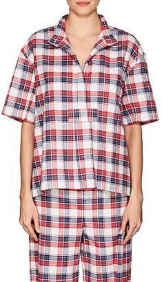 a0ef70e2e2 The Sleep Shirt Women s Plaid Cotton Flannel Pajama Top Pajama Top