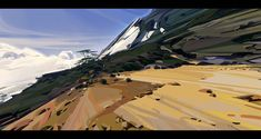 ArtStation - virtual plain air design exploration, Lip Comarella
