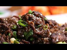 Korean BBQ-Style Beef (Bulgogi) - YouTube