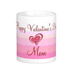 Mom Valentines Day Coffee Mug Designs by Janz