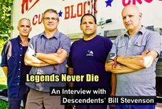 Legends Never Die - An interview with Descendents' Bill Stevenson