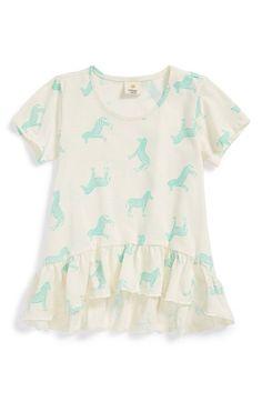 Tucker + Tate 'Maiko' Print Top (Toddler Girls, Little Girls  Big Girls) | Nordstrom #horse #kidsfashion