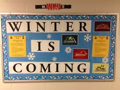 New RA bulletin board! Game of Thrones Inspired! #WKU