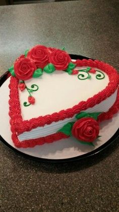 Make your guests swoon with this romantic DQ Cake at your next #Valentine's Day Party. Order yours at DQCakes.com.