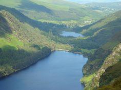 Glendalough National Park - the film setting for King Arthur!