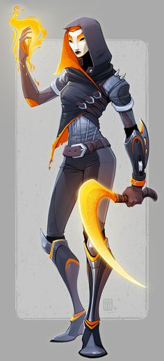 ArtStation - Masked Fighter, Tess Brownson