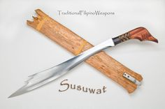 The Susuwat is another light, quick, and devastating traditional Filipino Moro weapon, recently added to our combat blade arsenal.