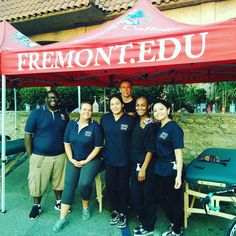 Fremont College SRT students and lead faculty Lance Followell worked the LAPD hosted 8th Annual Randy Simmon's 5k CrossFit Challenge and Bike Ride. Curtis Clark Amanda Reed Amanda Lopez Alexis Bell and Lacey Gálvez performed post massages for competing LAPD and local agency participants gaining invaluable professional experience other colleges simply don't offer. #fremontcollege #lapd #randysimmons #massage #5k #srt #professionalexperience