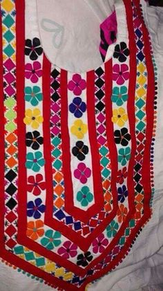 Applique Work on Shirts Cushion Bed Sheet