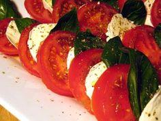 "Caprese Salad Recipe / How to make a Caprese Salad -Laura Vitale ""Laura In The Kitchen"" Episode 23"