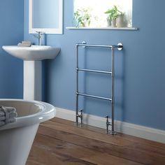 CLOAKROOM Milano Derwent - Traditional Minimalist Heated Towel Rail 937mm x 615mm