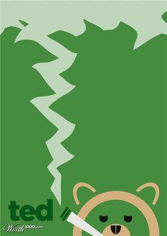 Ted Movieposter | #movieposter #design