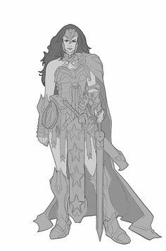 Comicon Challenge 2014 Wonder Woman redesign by Rayph.deviantart.com on @deviantART